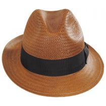 Lando Toyo LiteStraw Fedora Hat alternate view 2