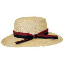 Boathouse Bao Straw Boater Hat in