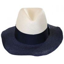 Positano Toyo Straw Blend Fedora Hat alternate view 2