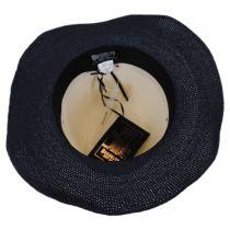 Positano Toyo Straw Blend Fedora Hat alternate view 4