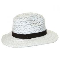 Lace Safari Fedora Hat in