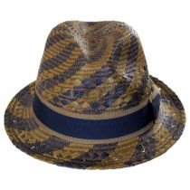 Kensington Toyo Straw Fedora Hat alternate view 2
