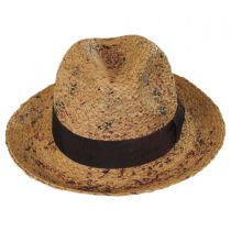 The Rye Raffia Straw Fedora Hat in