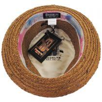 Gulf Shores Raffia Straw Fedora Hat alternate view 4