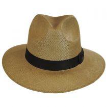 Toyo Straw Safari Fedora Hat in