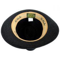 Tulum Toyo Straw Trilby Fedora Hat in