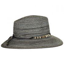 Phoenix Straw Fedora Hat in