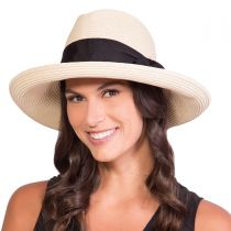 Adriana Toyo Straw Fedora Hat alternate view 8