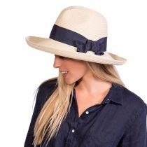 Adriana Toyo Straw Fedora Hat alternate view 9