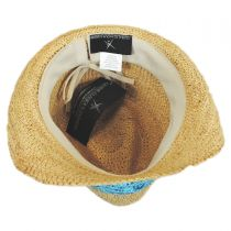 Malia Raffia Straw Fedora Hat alternate view 5