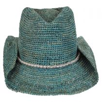 Sierra Raffia Straw Western Hat alternate view 6