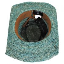 Sierra Raffia Straw Western Hat alternate view 8