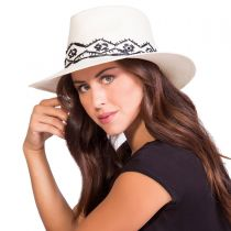 Tulum Toyo Straw Fedora Hat in