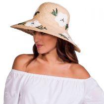 Punta Cana Raffia Straw Sun Hat in