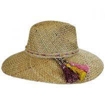 Margarita Straw Wide Brim Fedora Hat in