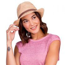 Marin Raffia Straw Fedora Hat alternate view 6