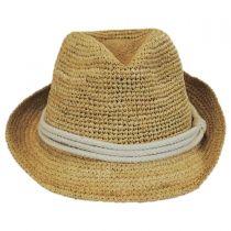 Marin Raffia Straw Fedora Hat alternate view 8