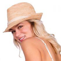 Marin Raffia Straw Fedora Hat alternate view 11