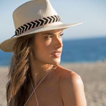 Cartagena Toyo Straw Fedora Hat in