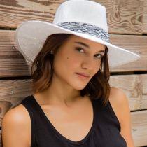 Shelby Toyo Straw Fedora Hat in