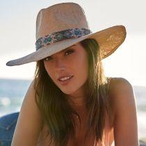 Dylan Toyo Straw Fedora Hat in