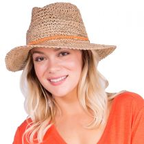 Trancoso Seagrass Straw Fedora Hat in