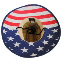 USA Flag Underbrim Lifeguard Hat in
