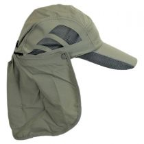 Fishing Supplex Flap Baseball Cap in