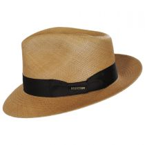 Aficionado Panama Straw Fedora Hat in