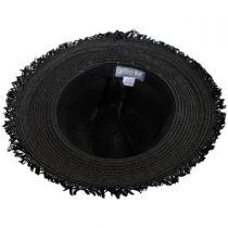 Aztec Band Pom Pom Toyo Straw Fedora Hat alternate view 4