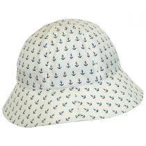 Anchor Rain Bucket Hat in