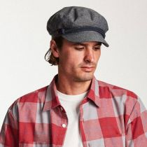 Linen and Cotton Fiddler Cap in