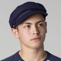 Ashland Herringbone Cotton Fiddler Cap alternate view 5