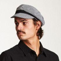 Kurt Herringbone Cotton Fiddler Cap in
