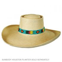 Feathers Beaded Hat Band in