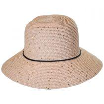 Sequin Toyo Straw Cloche Hat alternate view 2