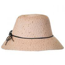 Sequin Toyo Straw Cloche Hat alternate view 3