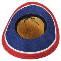 Stars and Stripes Toyo Straw Swinger Hat alternate view 4