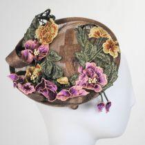Floral Dish Fascinator Headband alternate view 3
