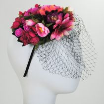 Bouquet Fascinator Headband alternate view 5