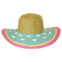 Kids' Summer Fun Toyo Straw Sun Hat alternate view 6