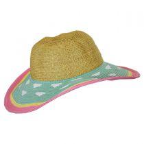 Kids' Summer Fun Toyo Straw Sun Hat alternate view 7