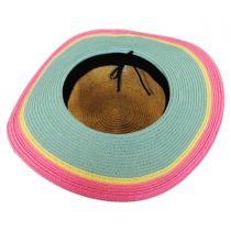 Kids' Summer Fun Toyo Straw Sun Hat alternate view 8