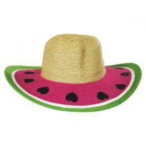 Kids' Summer Fun Toyo Straw Sun Hat alternate view 10