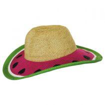 Kids' Summer Fun Toyo Straw Sun Hat alternate view 11