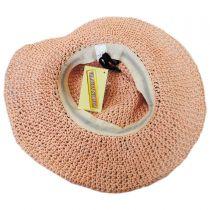 Kids' Daisy Crochet Toyo Straw Sun Hat alternate view 4