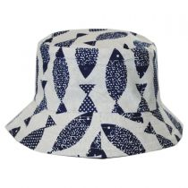 Toddlers' Fish Cotton Bucket Hat alternate view 3