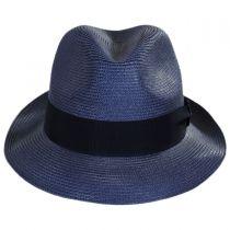 Craig Straw Fedora Hat in