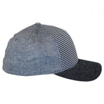 Flexfit Patchwork Fitted Baseball Cap in