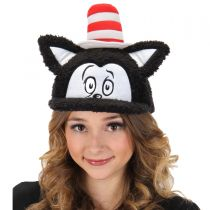 The Cat in the Hat Fuzzy Baseball Cap alternate view 5